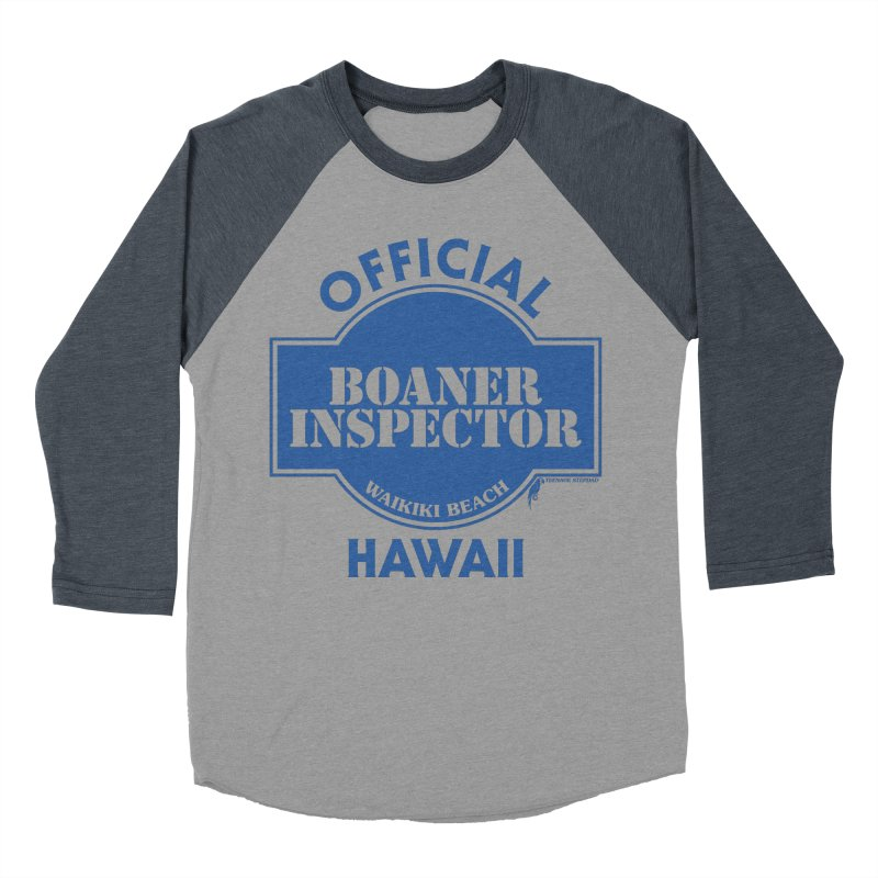 OFFICIAL BOANER INSPECTOR WAIKIKI classic Men's Baseball Triblend Longsleeve T-Shirt by Teenage Stepdad