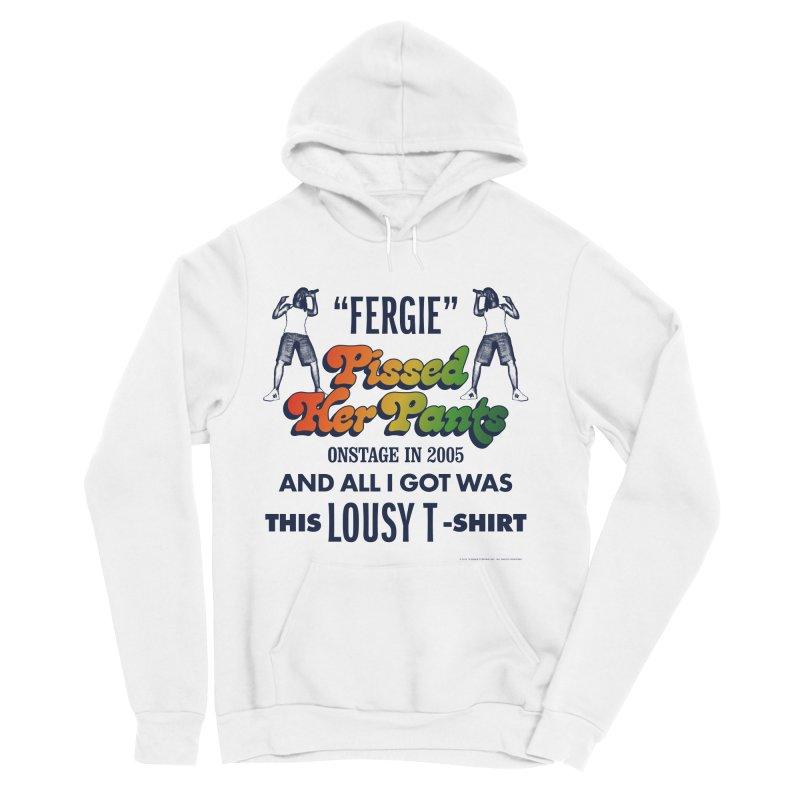 NEVER FERGET Women's Sponge Fleece Pullover Hoody by Teenage Stepdad