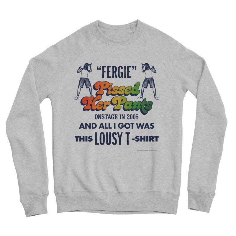NEVER FERGET Men's Sponge Fleece Sweatshirt by Teenage Stepdad