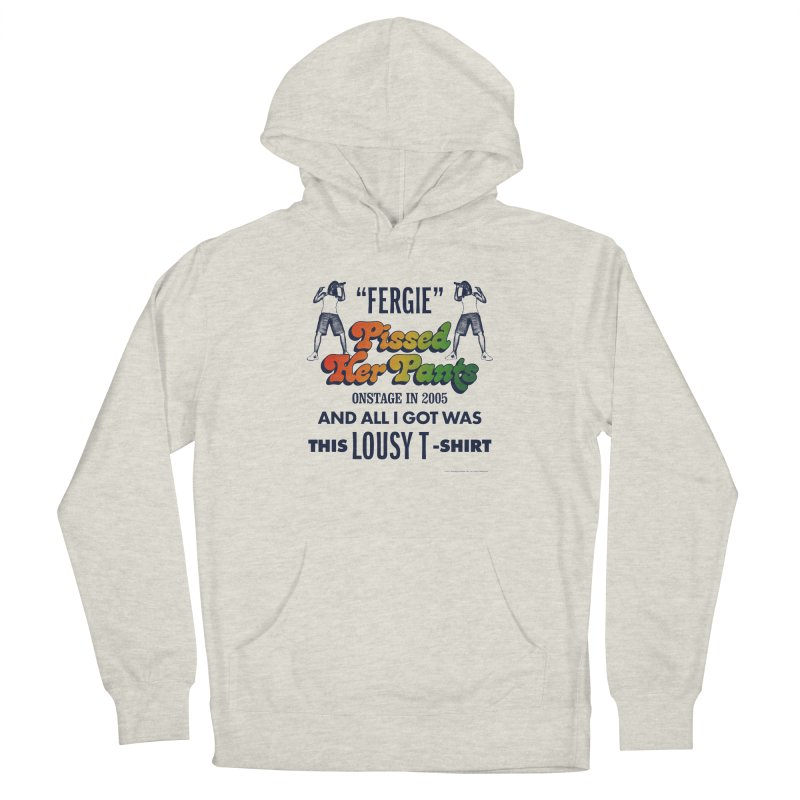 NEVER FERGET Men's French Terry Pullover Hoody by Teenage Stepdad