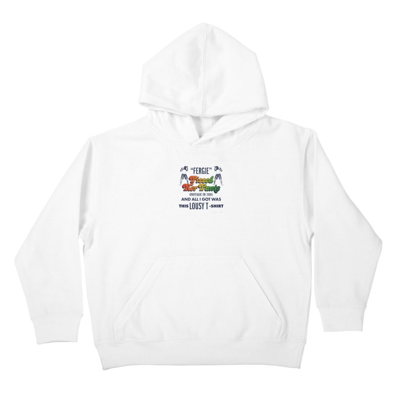 NEVER FERGET Kids Pullover Hoody by Teenage Stepdad