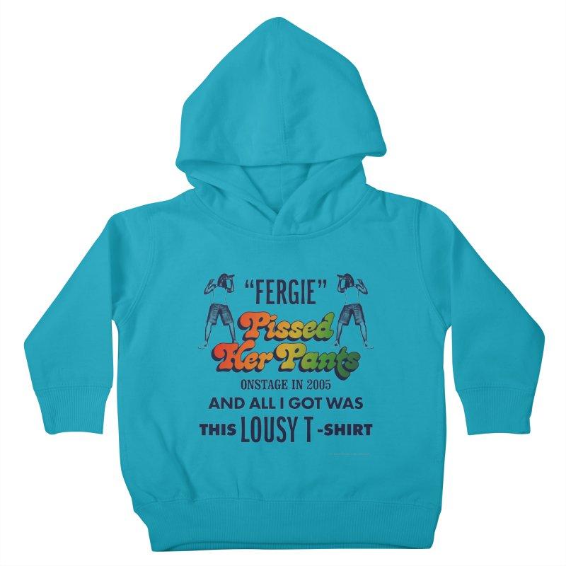 NEVER FERGET Kids Toddler Pullover Hoody by Teenage Stepdad