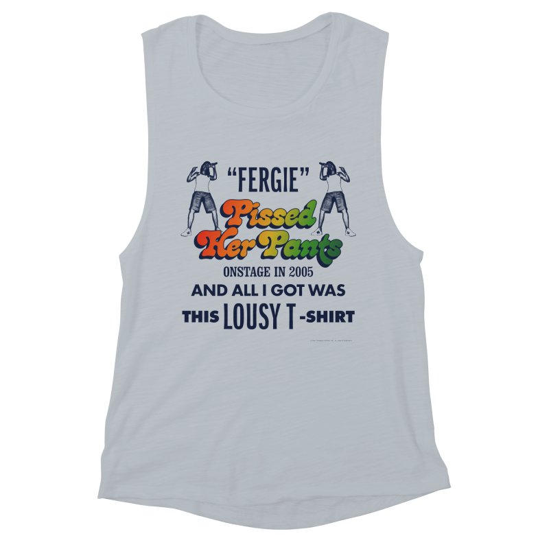 NEVER FERGET Women's Muscle Tank by Teenage Stepdad