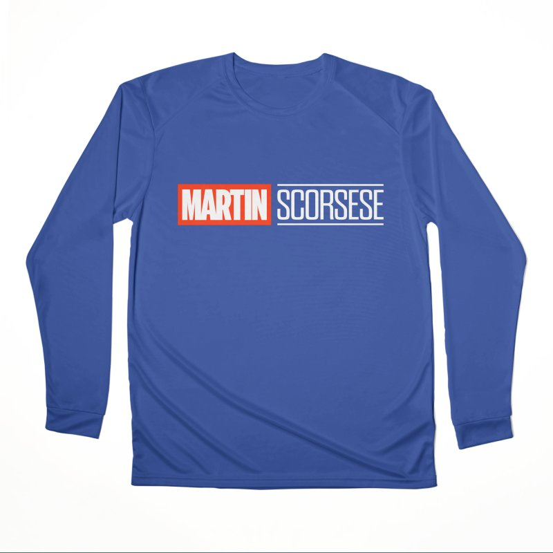 MARVEL SCORSESE Men's Performance Longsleeve T-Shirt by Teenage Stepdad