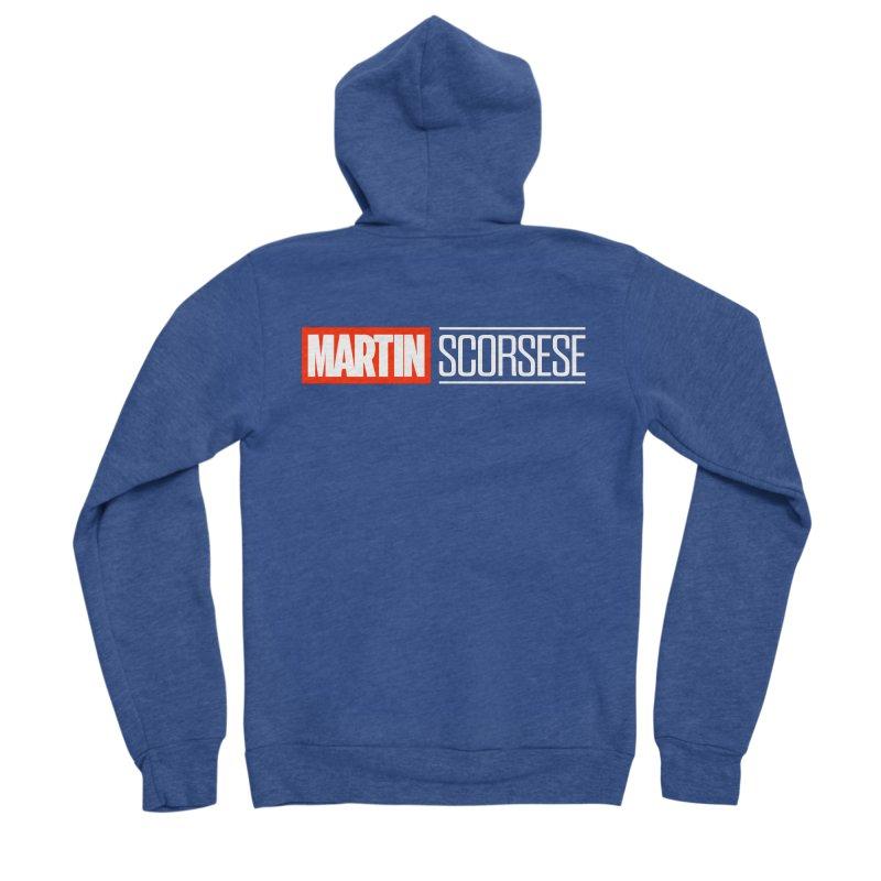 MARVEL SCORSESE Women's Sponge Fleece Zip-Up Hoody by Teenage Stepdad