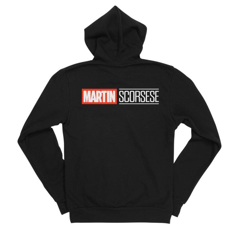 MARVEL SCORSESE Men's Sponge Fleece Zip-Up Hoody by Teenage Stepdad