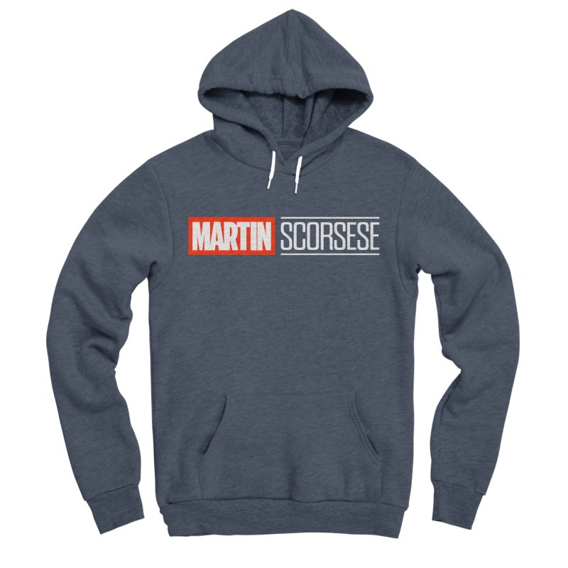 MARVEL SCORSESE Men's Sponge Fleece Pullover Hoody by Teenage Stepdad