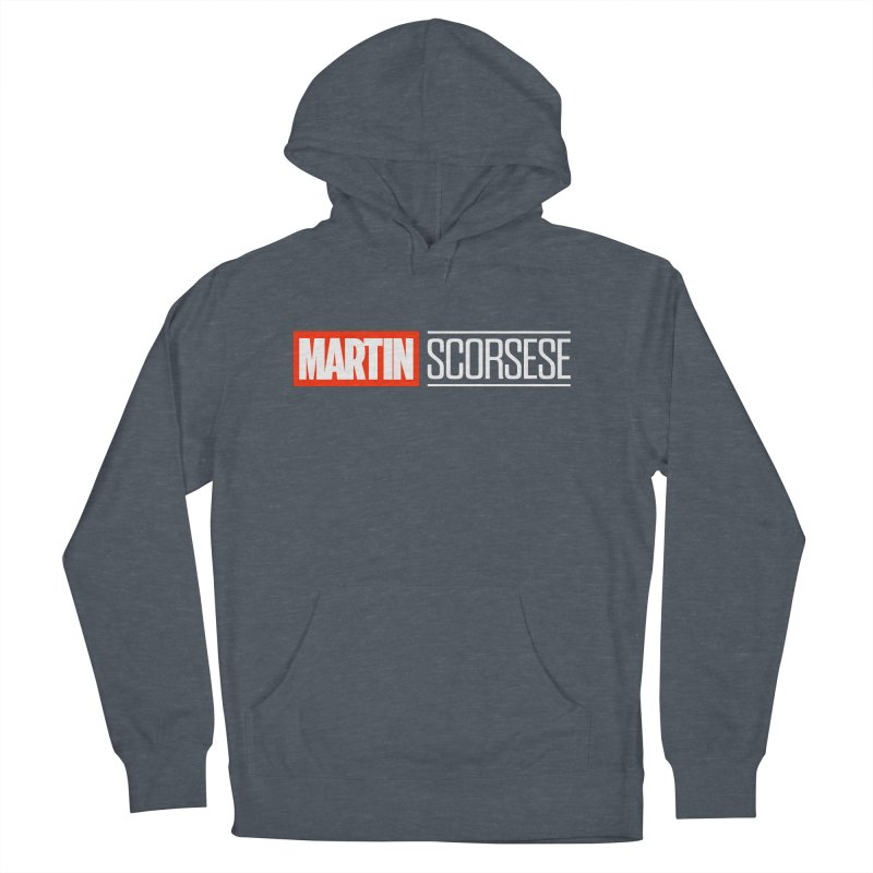 MARVEL SCORSESE Men's French Terry Pullover Hoody by Teenage Stepdad