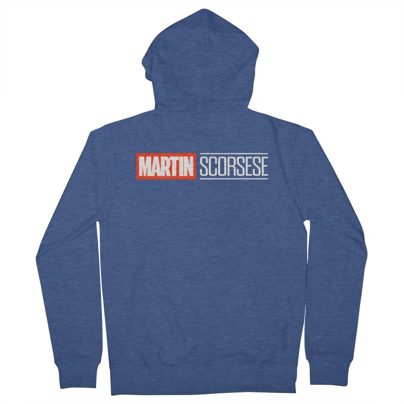 MARVEL SCORSESE Men's French Terry Zip-Up Hoody by Teenage Stepdad