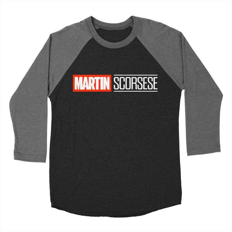 MARVEL SCORSESE Men's Baseball Triblend Longsleeve T-Shirt by Teenage Stepdad