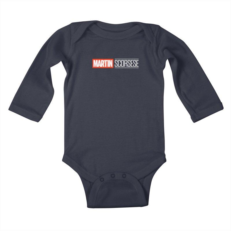 MARVEL SCORSESE Kids Baby Longsleeve Bodysuit by Teenage Stepdad