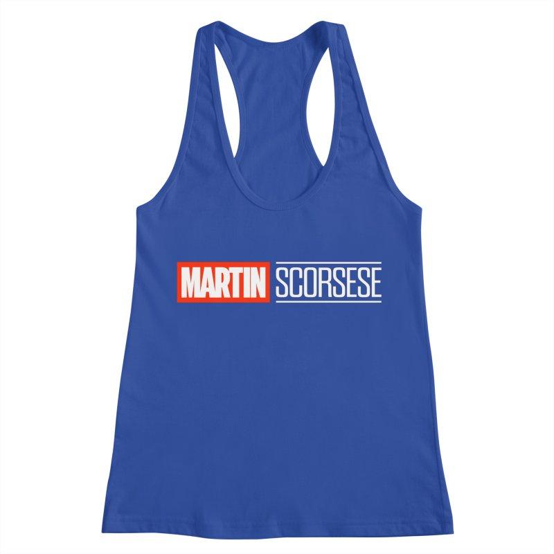MARVEL SCORSESE Women's Racerback Tank by Teenage Stepdad
