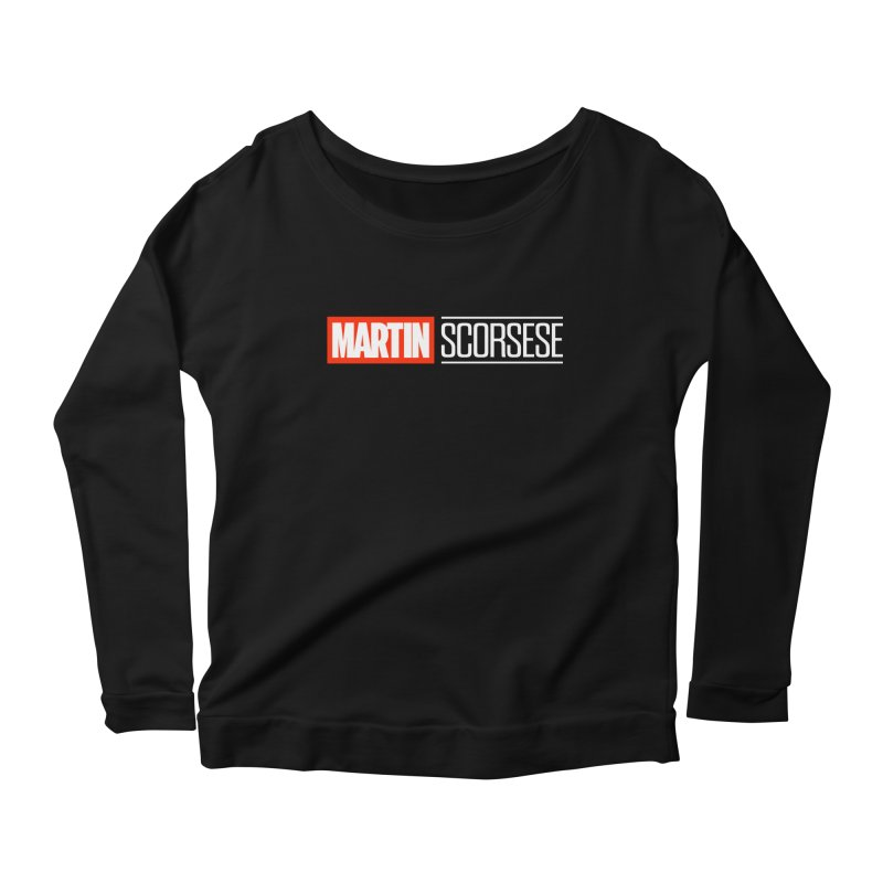 MARVEL SCORSESE Women's Scoop Neck Longsleeve T-Shirt by Teenage Stepdad