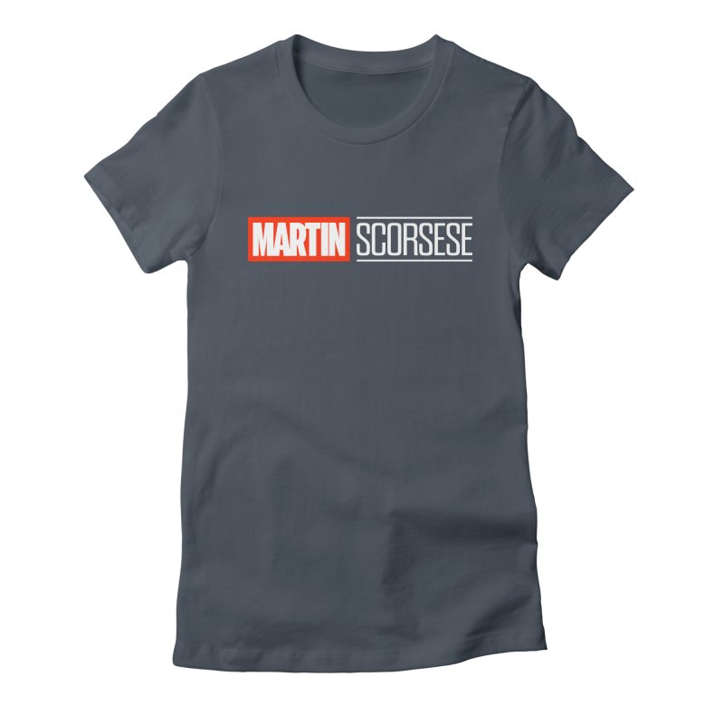 MARVEL SCORSESE Women's Fitted T-Shirt by Teenage Stepdad
