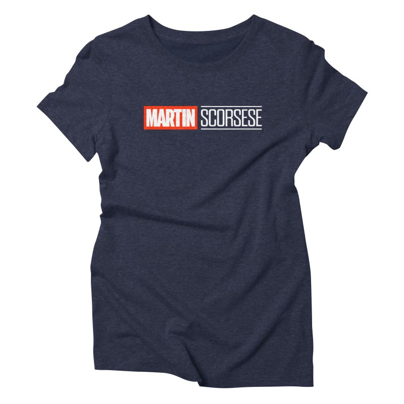 MARVEL SCORSESE Women's Triblend T-Shirt by Teenage Stepdad