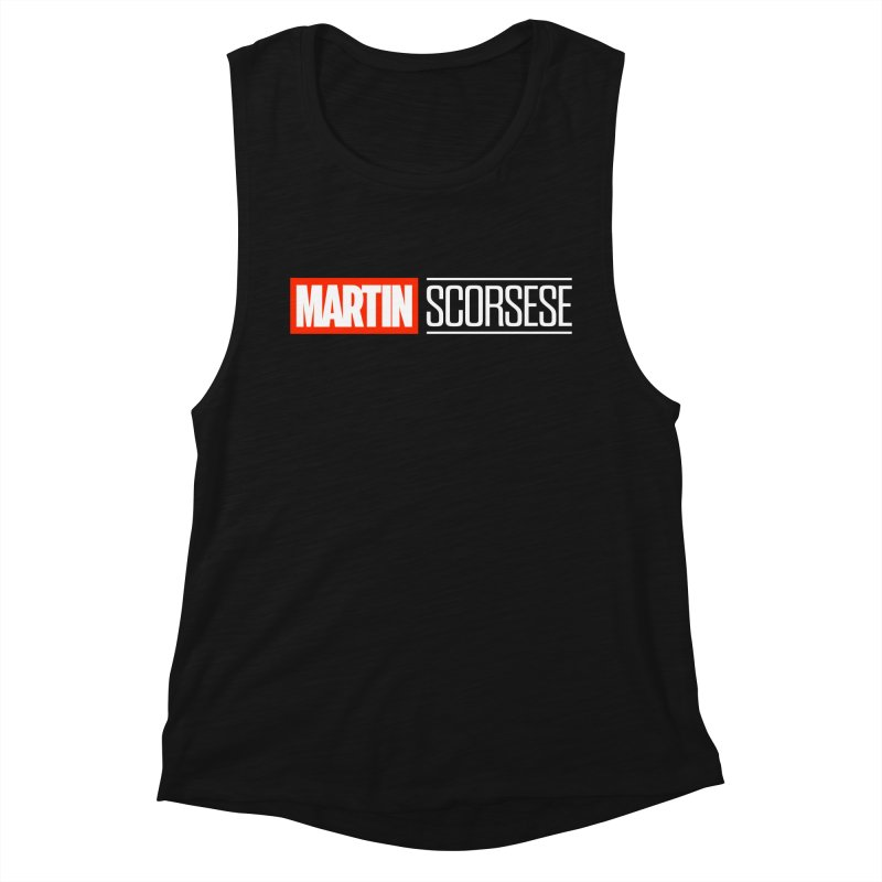 MARVEL SCORSESE Women's Muscle Tank by Teenage Stepdad