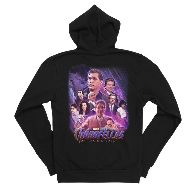 GOODFELLAS: ENDGAME (aka Superfellas) Women's Sponge Fleece Zip-Up Hoody by Teenage Stepdad