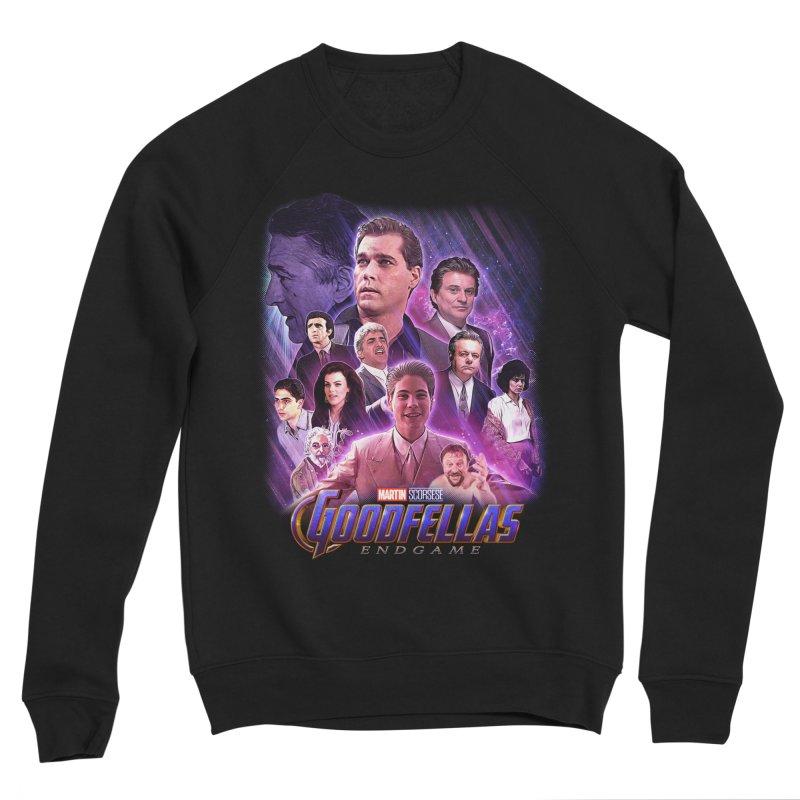 GOODFELLAS: ENDGAME (aka Superfellas) Women's Sponge Fleece Sweatshirt by Teenage Stepdad