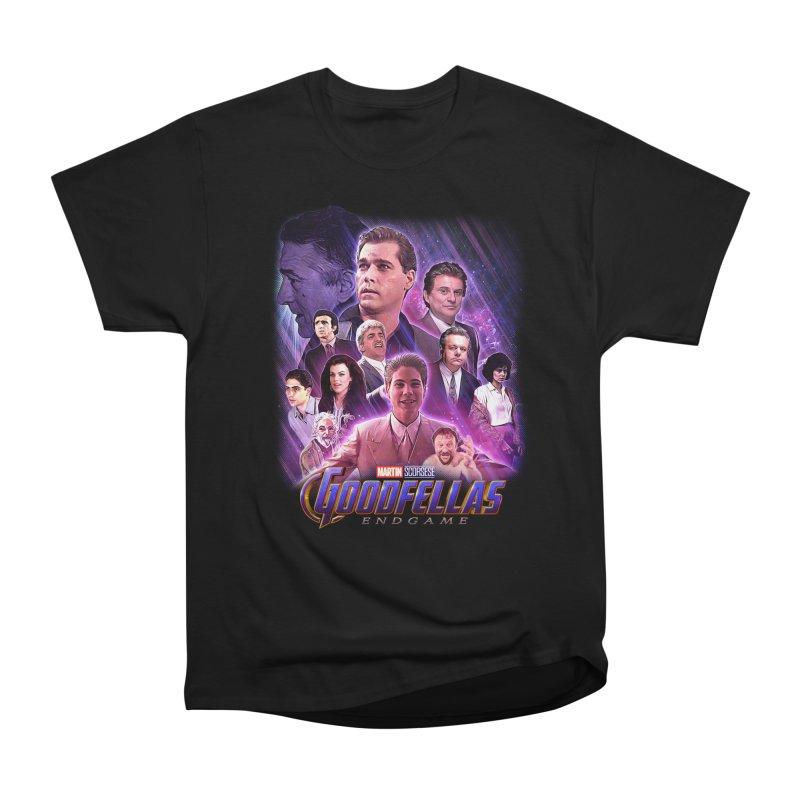 GOODFELLAS: ENDGAME (aka Superfellas) Women's Heavyweight Unisex T-Shirt by Teenage Stepdad