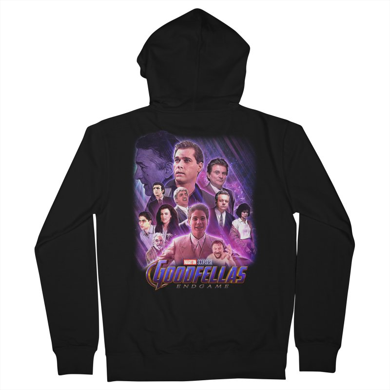 GOODFELLAS: ENDGAME (aka Superfellas) Men's French Terry Zip-Up Hoody by Teenage Stepdad
