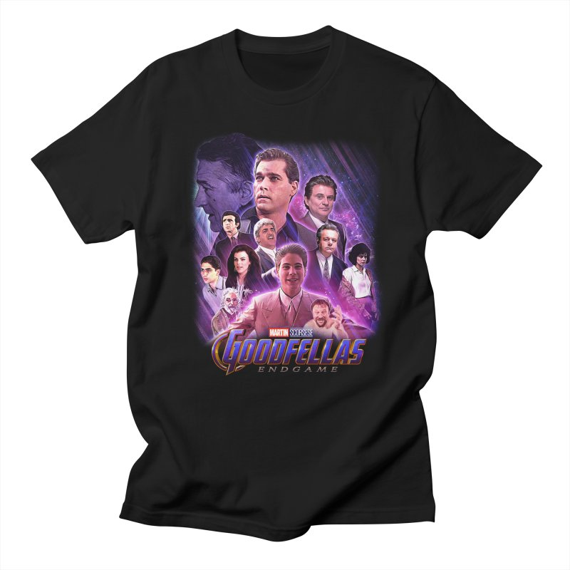 GOODFELLAS: ENDGAME (aka Superfellas) in Men's Regular T-Shirt Black by Teenage Stepdad