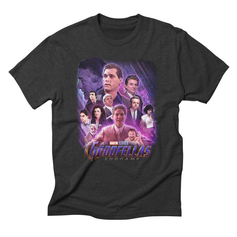 GOODFELLAS: ENDGAME (aka Superfellas) Men's Triblend T-Shirt by Teenage Stepdad