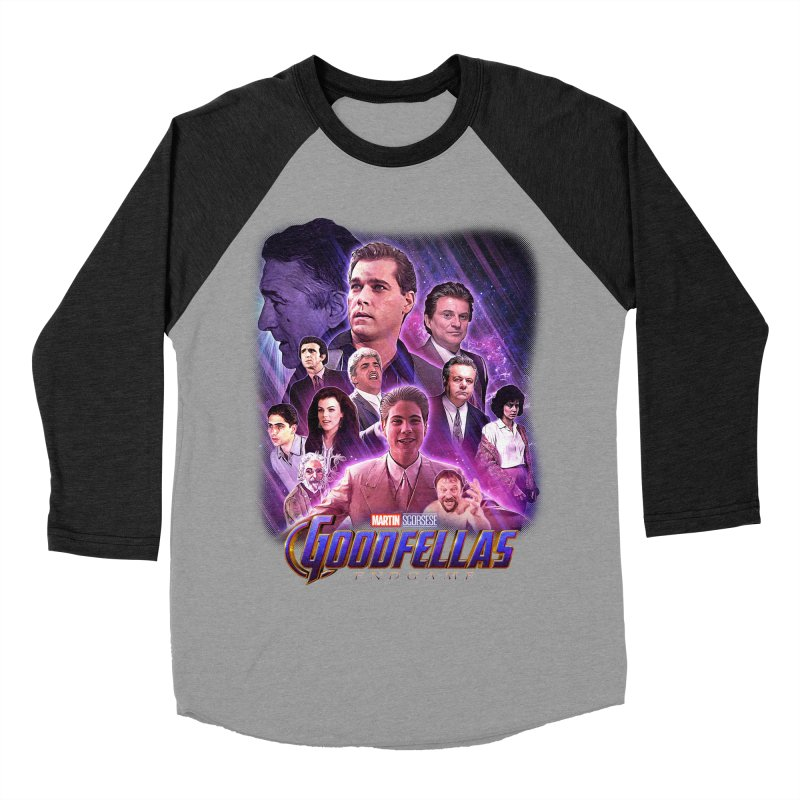 GOODFELLAS: ENDGAME (aka Superfellas) Men's Baseball Triblend Longsleeve T-Shirt by Teenage Stepdad