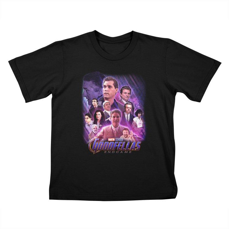 GOODFELLAS: ENDGAME (aka Superfellas) Kids T-Shirt by Teenage Stepdad