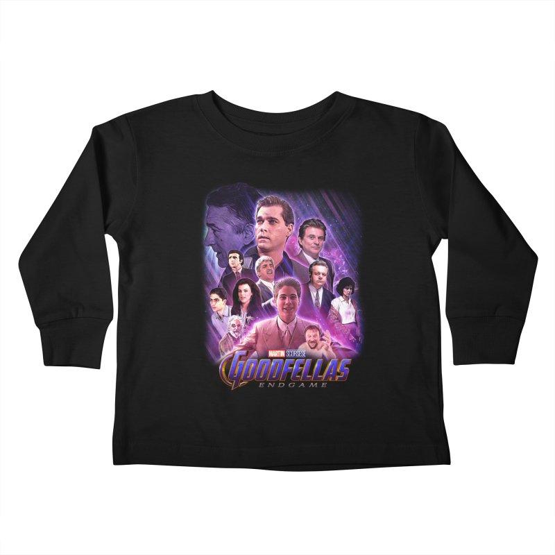 GOODFELLAS: ENDGAME (aka Superfellas) Kids Toddler Longsleeve T-Shirt by Teenage Stepdad