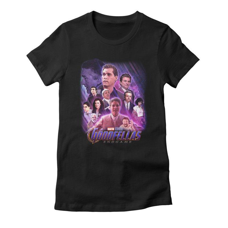 GOODFELLAS: ENDGAME (aka Superfellas) Women's Fitted T-Shirt by Teenage Stepdad