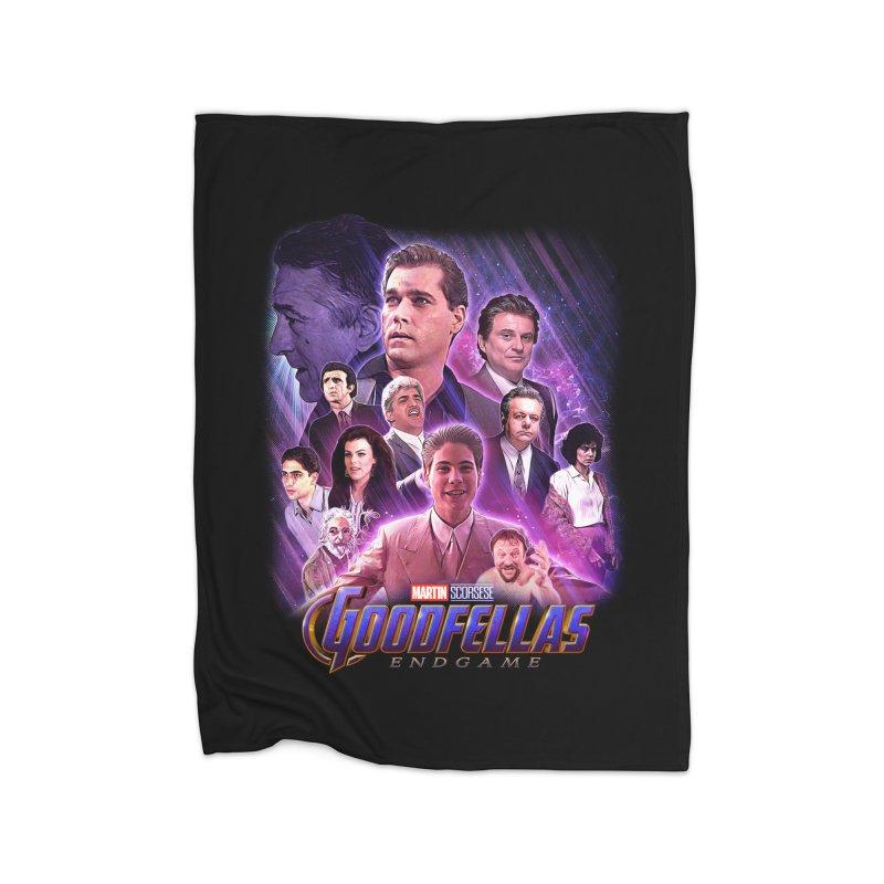 GOODFELLAS: ENDGAME (aka Superfellas) Home Fleece Blanket Blanket by Teenage Stepdad