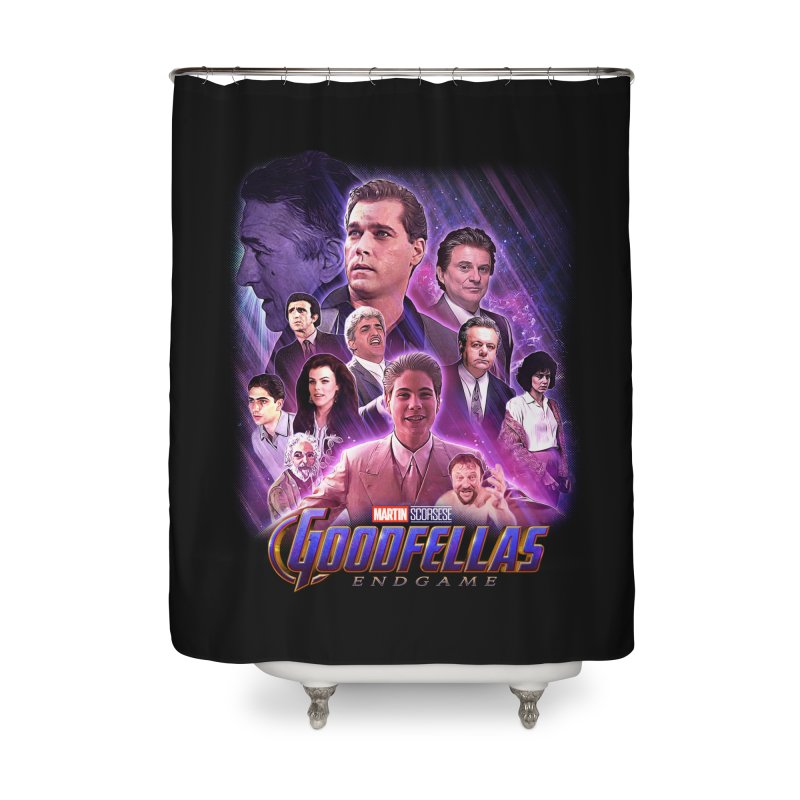 GOODFELLAS: ENDGAME (aka Superfellas) Home Shower Curtain by Teenage Stepdad