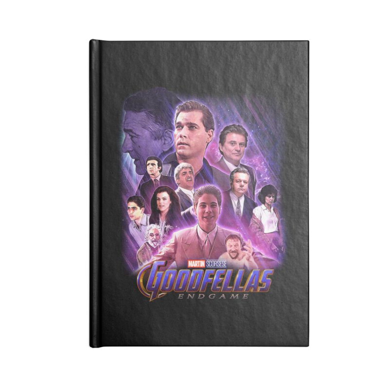 GOODFELLAS: ENDGAME (aka Superfellas) Accessories Lined Journal Notebook by Teenage Stepdad