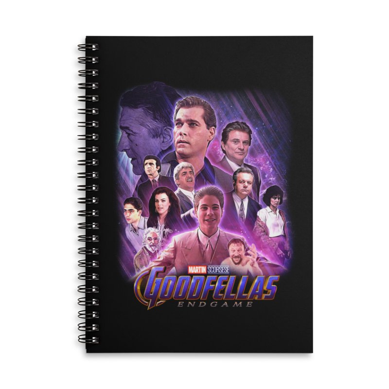GOODFELLAS: ENDGAME (aka Superfellas) Accessories Lined Spiral Notebook by Teenage Stepdad