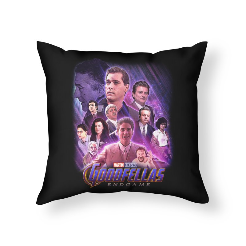 GOODFELLAS: ENDGAME (aka Superfellas) Home Throw Pillow by Teenage Stepdad