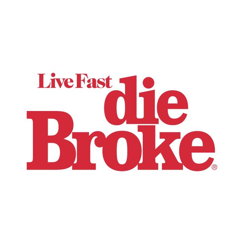 Live Fast Die Broke Men's Cut & Sew by Teenage Stepdad Shop | 90s Inspired Apparel