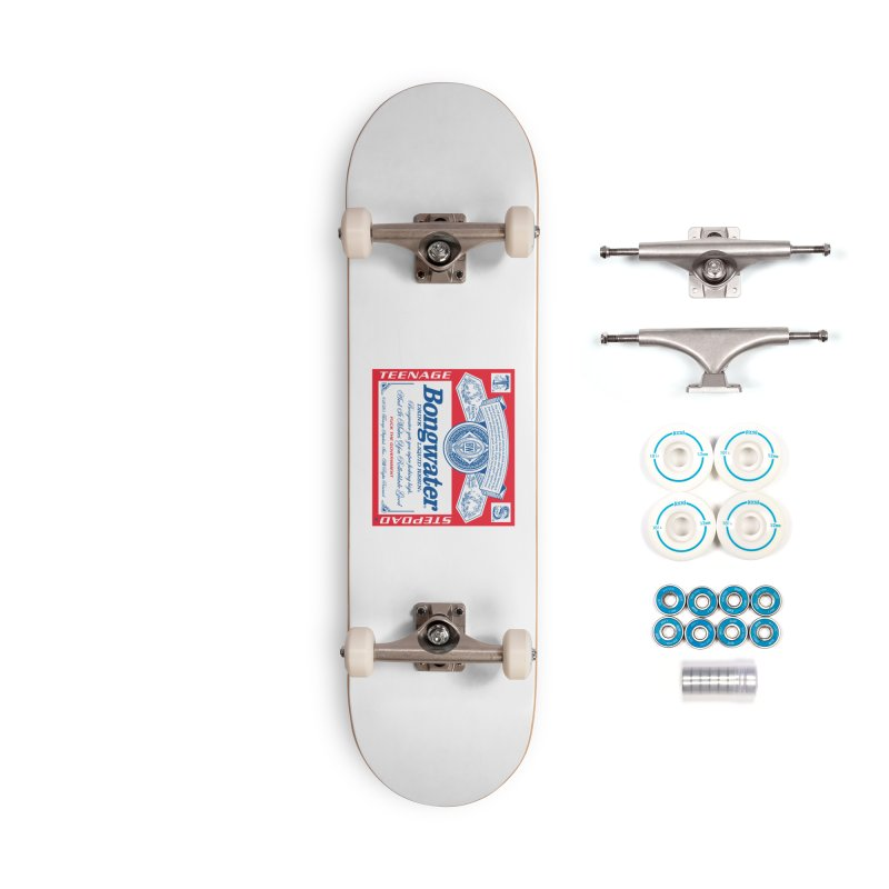 BONGWATER Classic Label Bootleg Accessories Complete - Basic Skateboard by Teenage Stepdad