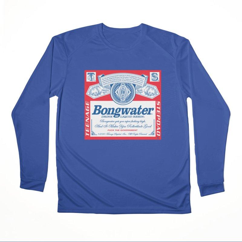 BONGWATER Classic Label Bootleg Men's Performance Longsleeve T-Shirt by Teenage Stepdad