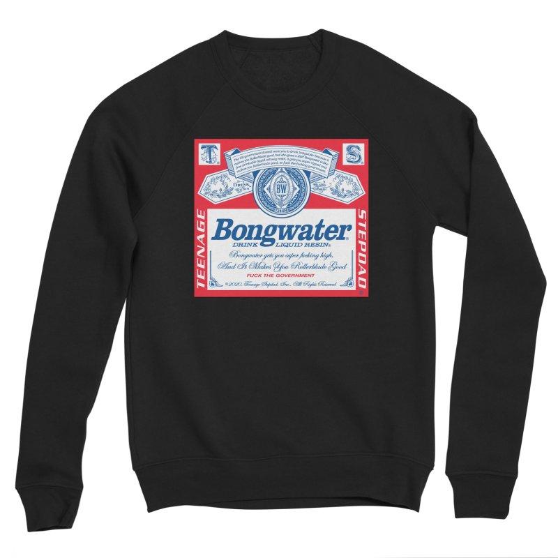 BONGWATER Classic Label Bootleg Men's Sponge Fleece Sweatshirt by Teenage Stepdad