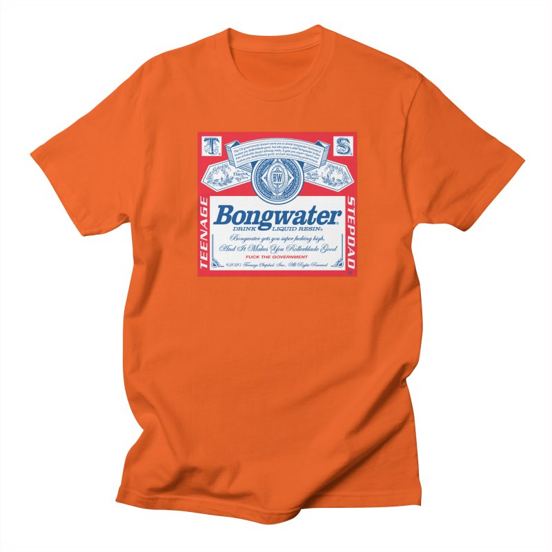 BONGWATER Classic Label Bootleg Women's Regular Unisex T-Shirt by Teenage Stepdad