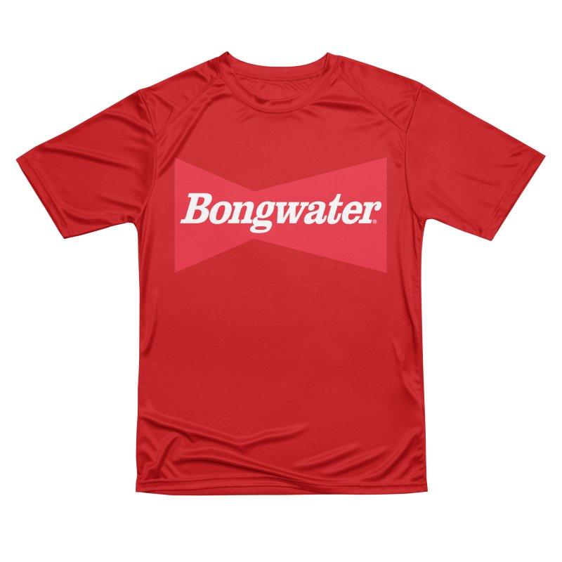 BONGWATER Classic Bowtie Logo Bootleg Men's Performance T-Shirt by Teenage Stepdad