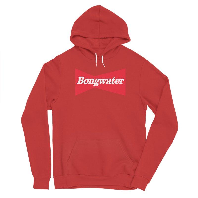 BONGWATER Classic Bowtie Logo Bootleg Men's Sponge Fleece Pullover Hoody by Teenage Stepdad