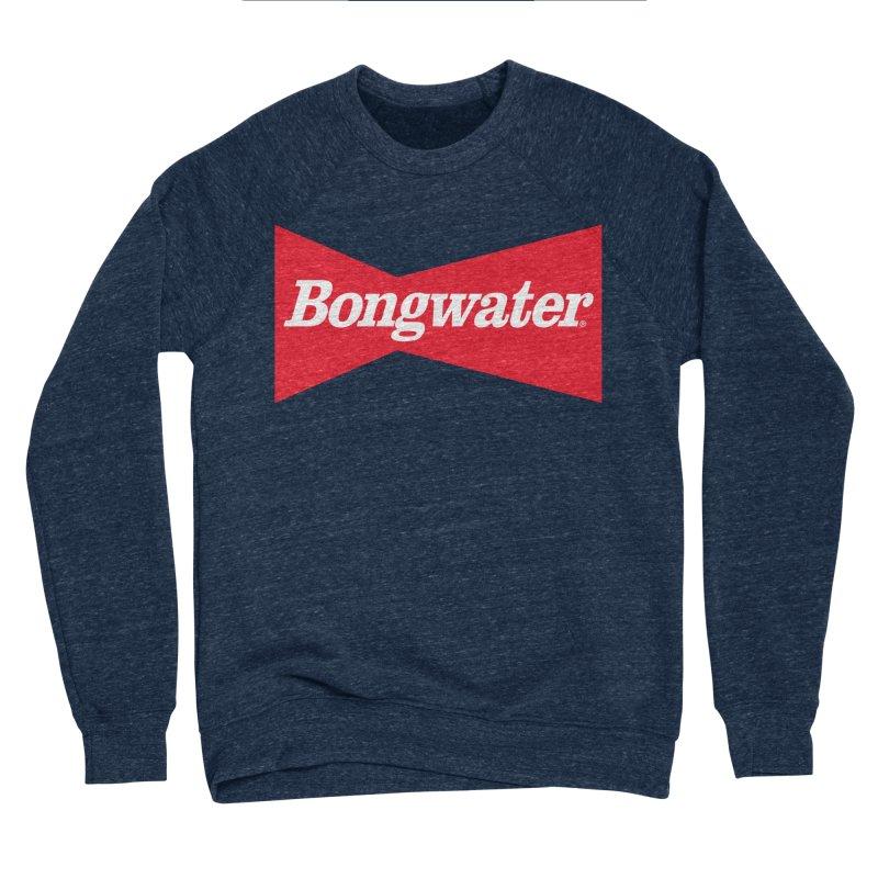 BONGWATER Classic Bowtie Logo Bootleg Women's Sponge Fleece Sweatshirt by Teenage Stepdad