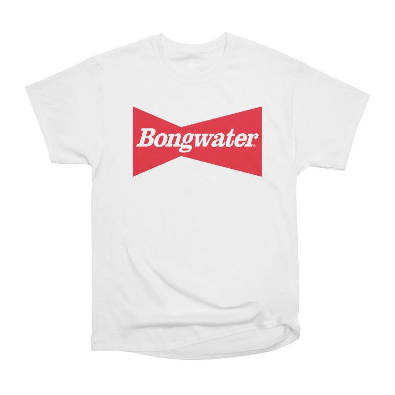 BONGWATER Classic Bowtie Logo Bootleg Women's Heavyweight Unisex T-Shirt by Teenage Stepdad