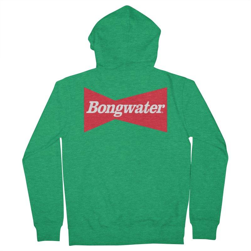 BONGWATER Classic Bowtie Logo Bootleg Women's French Terry Zip-Up Hoody by Teenage Stepdad