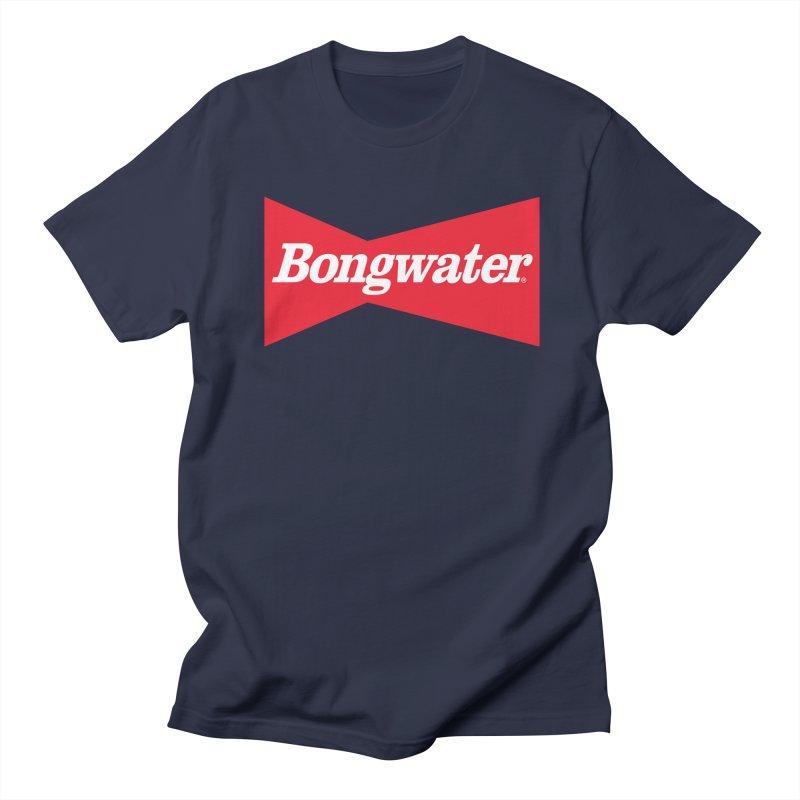 BONGWATER Classic Bowtie Logo Bootleg Women's Regular Unisex T-Shirt by Teenage Stepdad