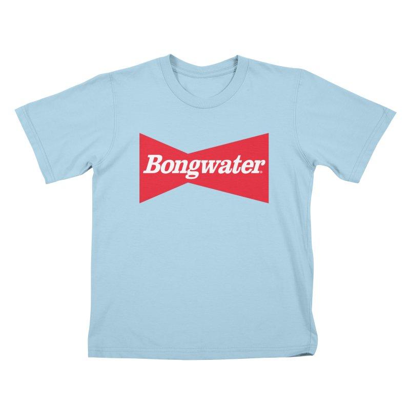 BONGWATER Classic Bowtie Logo Bootleg Kids T-Shirt by Teenage Stepdad