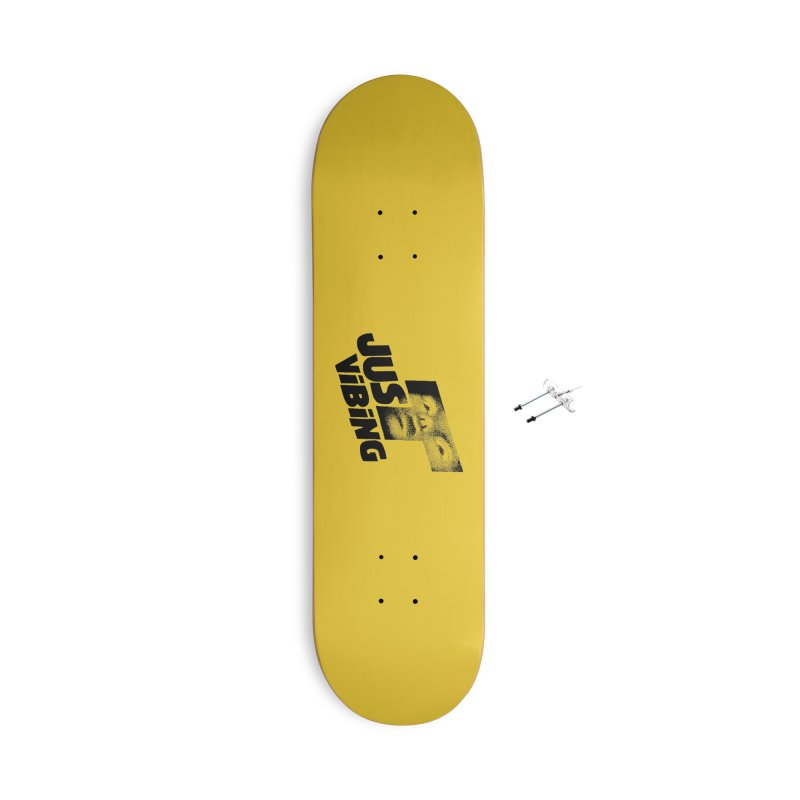 JUST VIBING Accessories With Hanging Hardware Skateboard by Teenage Stepdad