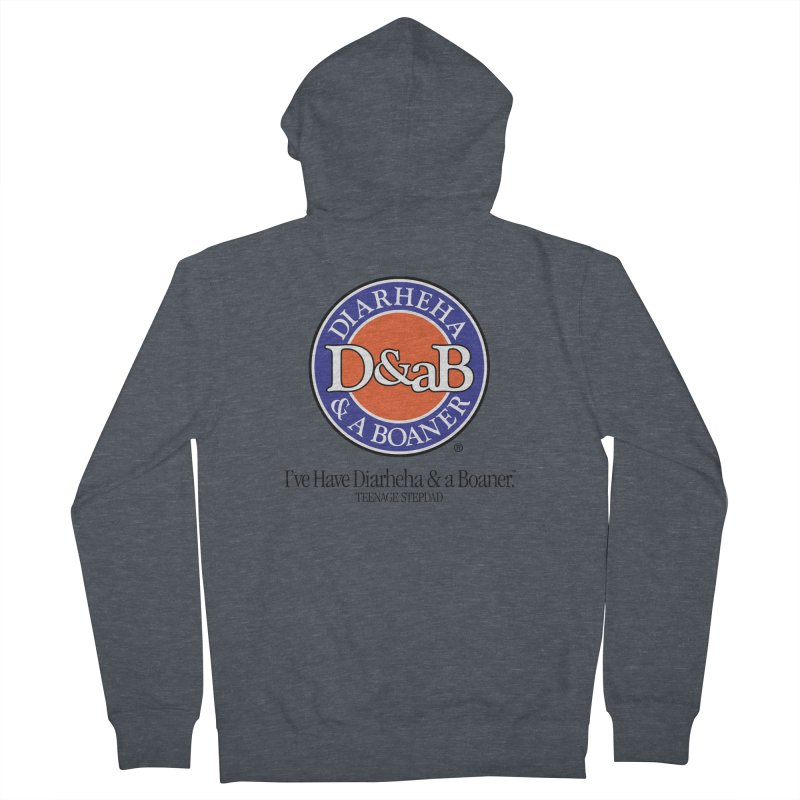 D&aB DIARHEHA & A BOANER Women's French Terry Zip-Up Hoody by Teenage Stepdad
