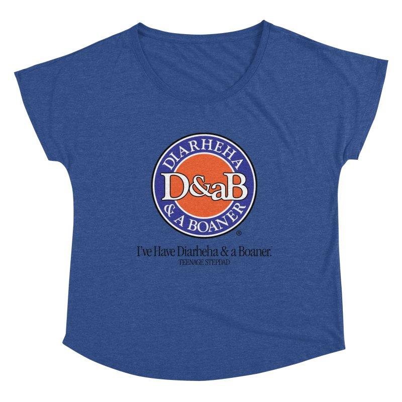 D&aB DIARHEHA & A BOANER Women's Dolman Scoop Neck by Teenage Stepdad